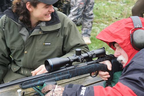 Check sighting rifles before the hunt
